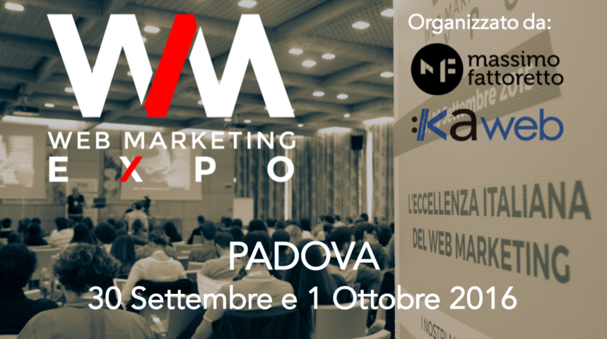 WM Expo 2016 - Le eccellenze italiane del digital marketing