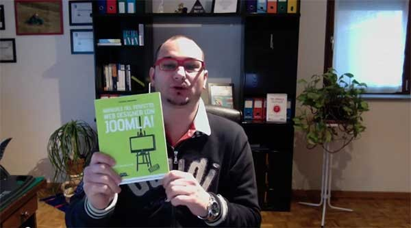 Video recensione del libro Manuale del perfetto web designer con Joomla